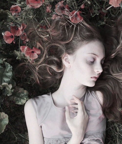 deprincessed:  Codie Young is a sleeping beauty in 'Once Upon A Time' by Camille Vivier for Lula F/W 2011