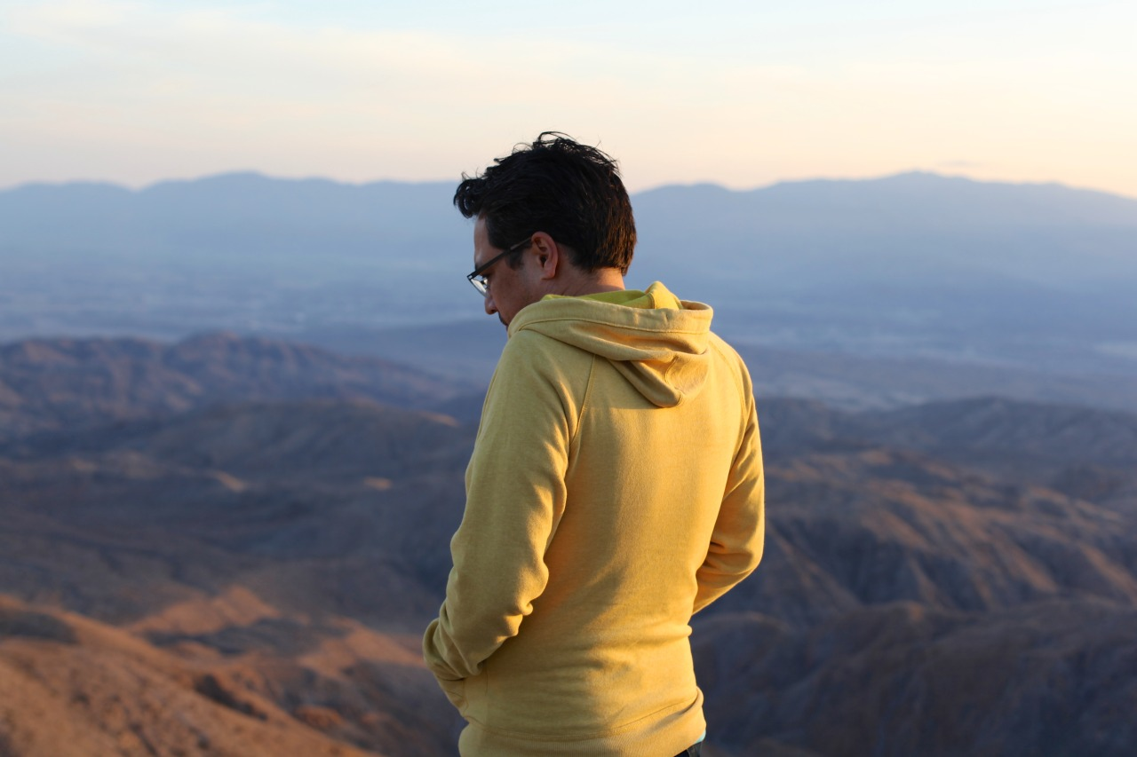 Robert at Keys View - Joshua Tree, California