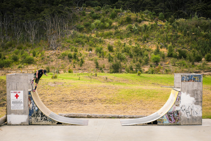 Tom Kelly, backside noseblunt. Mangawhai. Check out the Corona Coasting booklet here.