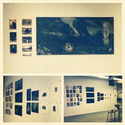 End of Semester Reviews this morning! (at USF College of The Arts (FAH Building))