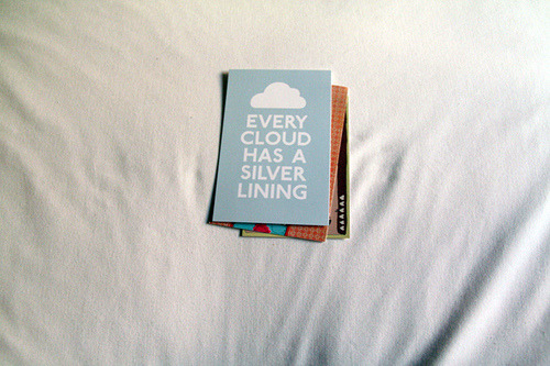 sinkling:  Every cloud by Elen. on Flickr.