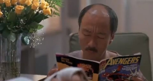 #111: Dennis Chan reads comics, Kickboxer 2: The Road Back, 1991.