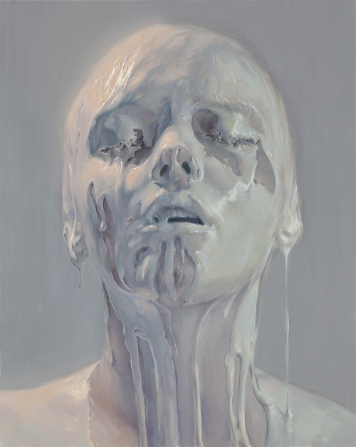 Porcelain Skin  by Ivan Alifan ~ oil painting on canvas
