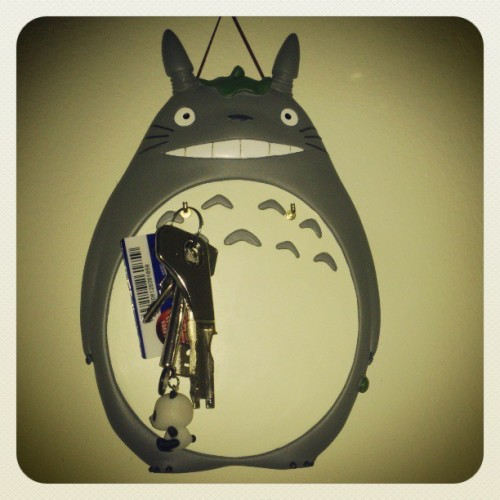 Today alone :(  #totoro #keys #home