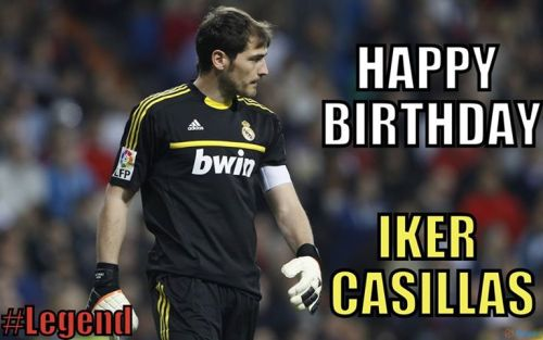 slowlyfading-awayy:  Happy 32nd Birthday to Iker Casillas, my Captain,  legend, leader, best goal keeper in the world and most importantly the  Heart of Real Madrid ! ♥