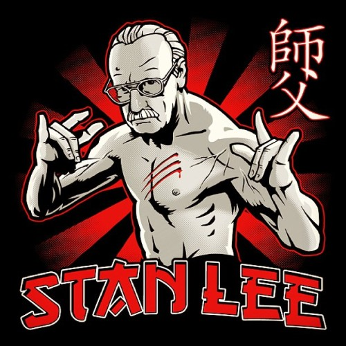 #teeoftheday #StanLee! #nerd #geek #fashion #shirtpunch.com #comics #marvel #spiderman #fantasticfour #xmen #avengers #ironman #tees #tshirt #excelsior #nuffsaid