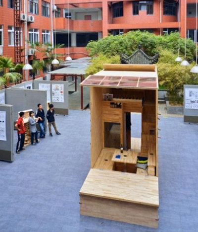 Architecture Students in China Build 75 Sq. Ft. Tiny HouseView Post