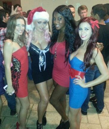 Playboy Christmas party