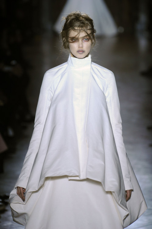 Everyone is talking about the #GarethPugh collection. What did you think? #PFW