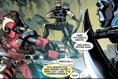 A+X #8  Deadpool, guys. Fucking Deadpool.  [vis-à-vis]