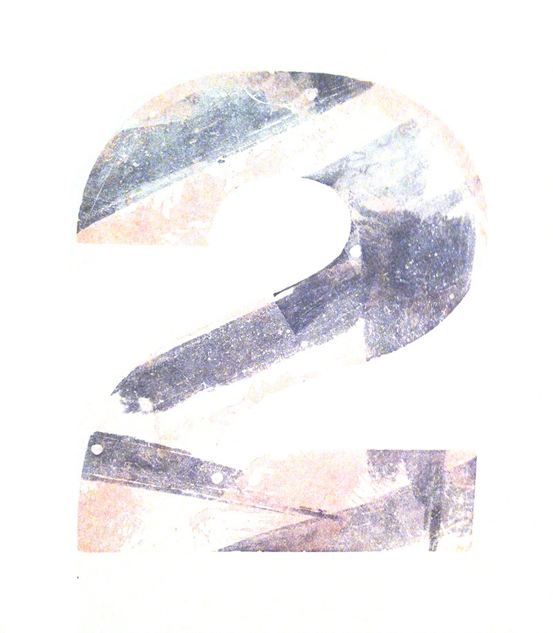 2's by Jack W. Stauffacher, 1969