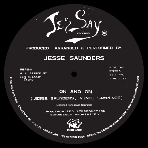 Jesse Saunders - On & On (2013 Reissue)