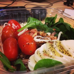Lunch break❤#traderjoes #salad #yummysnacks (at MedImpact Healthcare Systems)