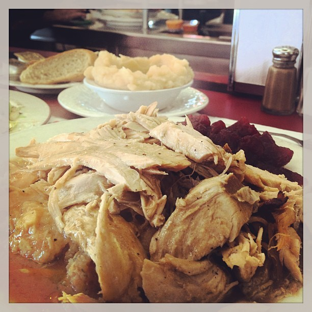 Skipping breakfast is worth it on #TurkeyTuesday (at S & S Diner)