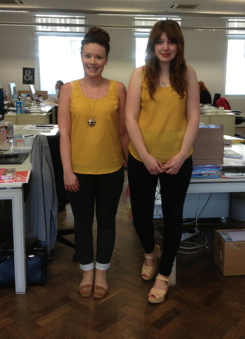 """Mustard been a coincidence!"" We love a pun, and these ladies did our job for us in their submission subject line. Thanks to Memo-getters Clare, Carolyn and submitter/punner Gemma from Coley Porter Bell in London, we'll go ahead and take the afternoon off."