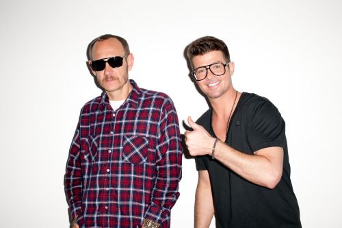 Me as Robin Thicke… Robin Thicke as Me