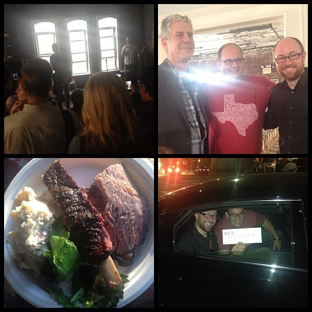 Congrats @anthonybourdain, @bbqsnob, @redblank & @davidhalesmith on @theposm launch!