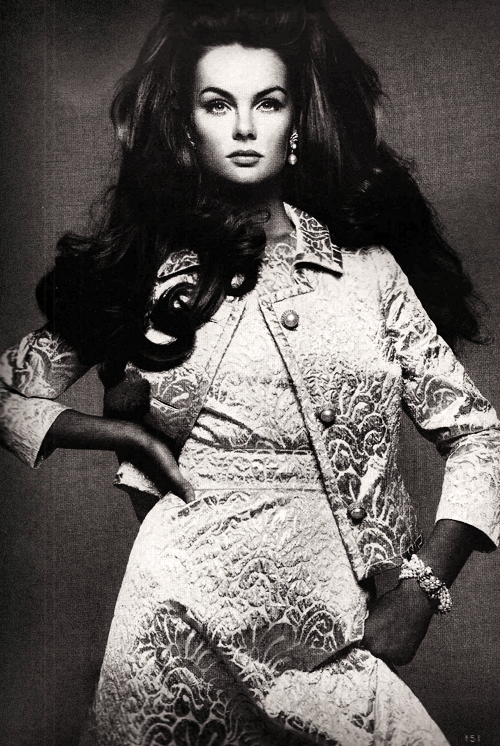 Jean Shrimpton in Vogue November, 1967
