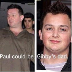 Plot twist: Paul IS Gibby's dad  -H