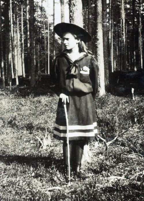 Grand Duchess Tatiana in Finland: 1908.
