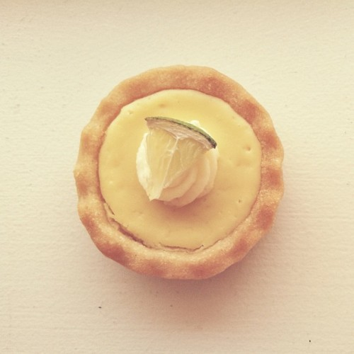 It's teeny tiny key lime tart day! #adorbs
