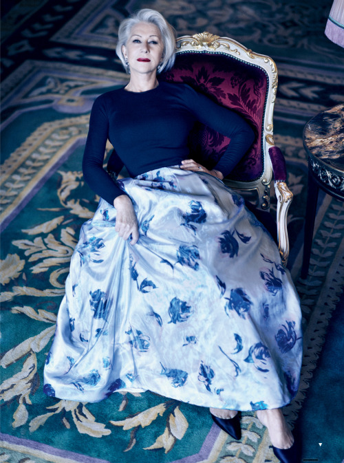 katehepburn:  bohemea:  Helen Mirren: Great Dame - Vogue by Mikael Jansson, March 2013  #dayum #as in Dayum Helen Mirren