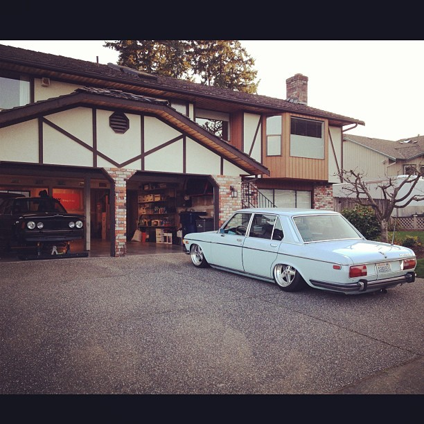 Laying low till we come out swinging. @theneek @bavacious #bmw #e21 #e3 #bavaria #ohp #stanceworks