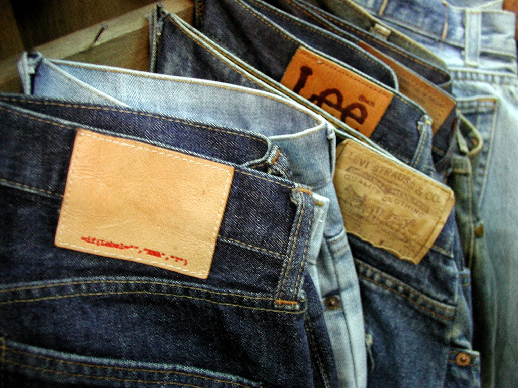 This is what happens when a counterfeit jean factory has a bug in their label software.