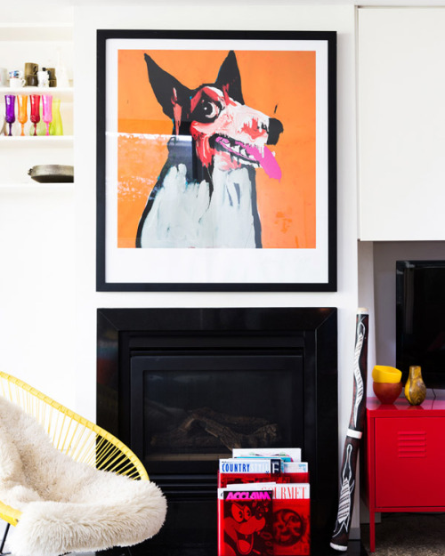 The Melbourne home of illustrator / designer Letitia Green and her husband Michael Green