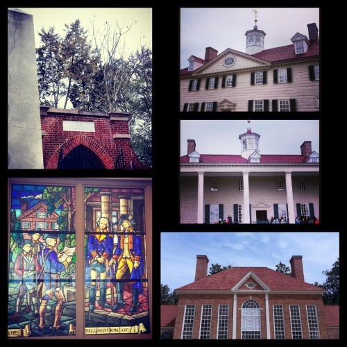 George Washington's Mount Vernon - GW tomb, west view, east view, the greenhouse, stained glass at the visitor's center. It was kinda crazy the day we went - lots of spring break kids still running around. But the grounds and the house is beautiful and so is the view of the Potomac. A nice way to spend a few hours.