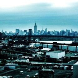 So emo #nyc #brooklyn #rooftop #view #gloomy #rainy
