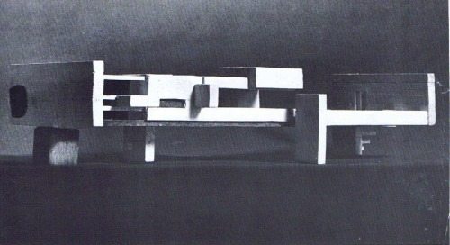 Victor Pasmore, model for the Pavilion, Peterlee, 1967