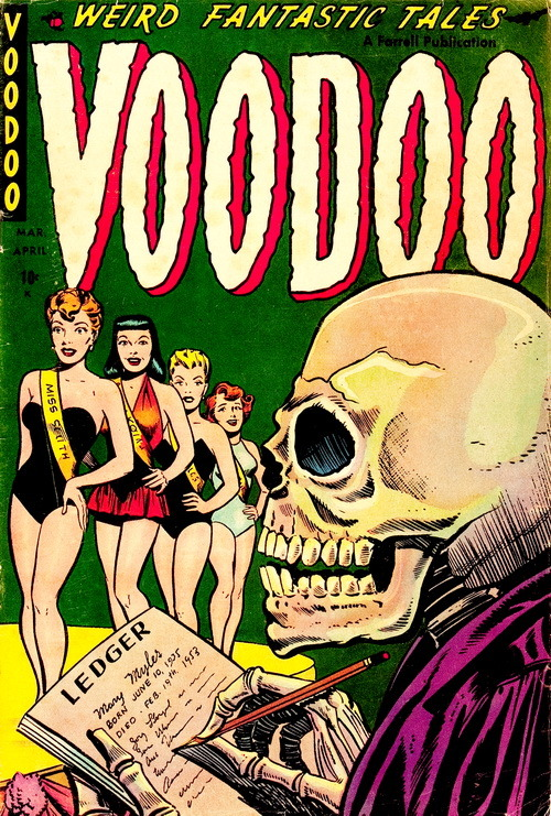 monsterman:  Voodoo (No.14, 1954)