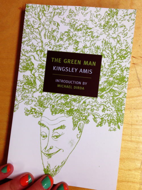 "thebooksmith:  OH YES OH YES  In honor of the release of Kingsley Amis's ghost story, The Green Man and his alt-history, The Alteration, we have a slew of SF, fantasy, and horror books on sale (for a limited time). SALE! And, for Anglophile eyes only, a bonus sentence from The Green Man that uses the terms ""birds"" (to mean women) and ""steak-and-kidney pie."""