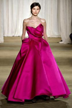 Marchesa gown Fall/Winter 2013-2014