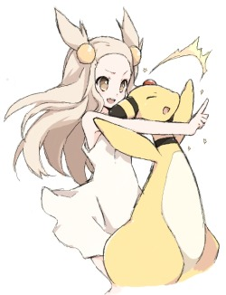 pokemon jasmine gym leader mikan johto hgss gsc ampharos gen ii pokegirls pokemon girls