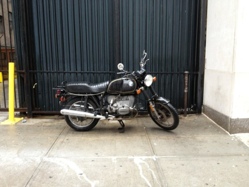 2087:  BMW R100/7. Manhattanites just love BMW motorcycles! I've never seen more in my life.
