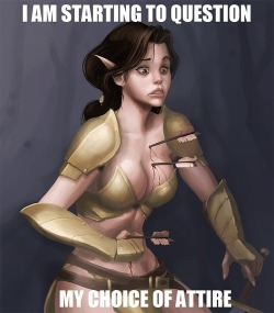 it-that-betrays:  League of Legends females in a nutshell