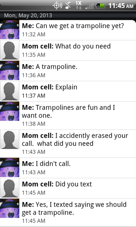 My mother is a hot mess.