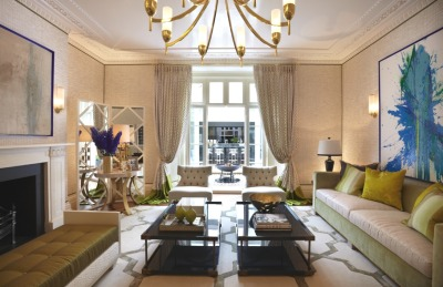 Luxurious Grosvenor Crescent renovation by Helen Green Designs, London