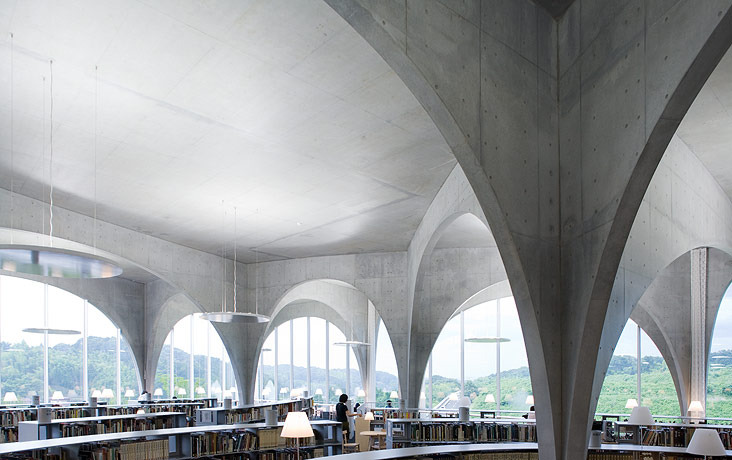 Toyo Ito's Tama Art University library