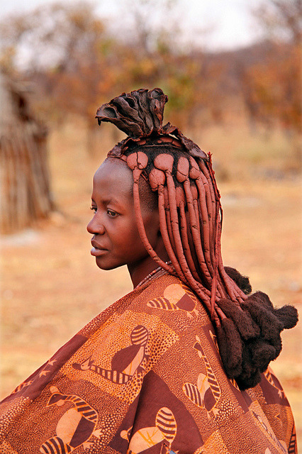 quietbystander:  Himba tribes woman, Kunene region, Namibia by Igor Bilic on Flickr.
