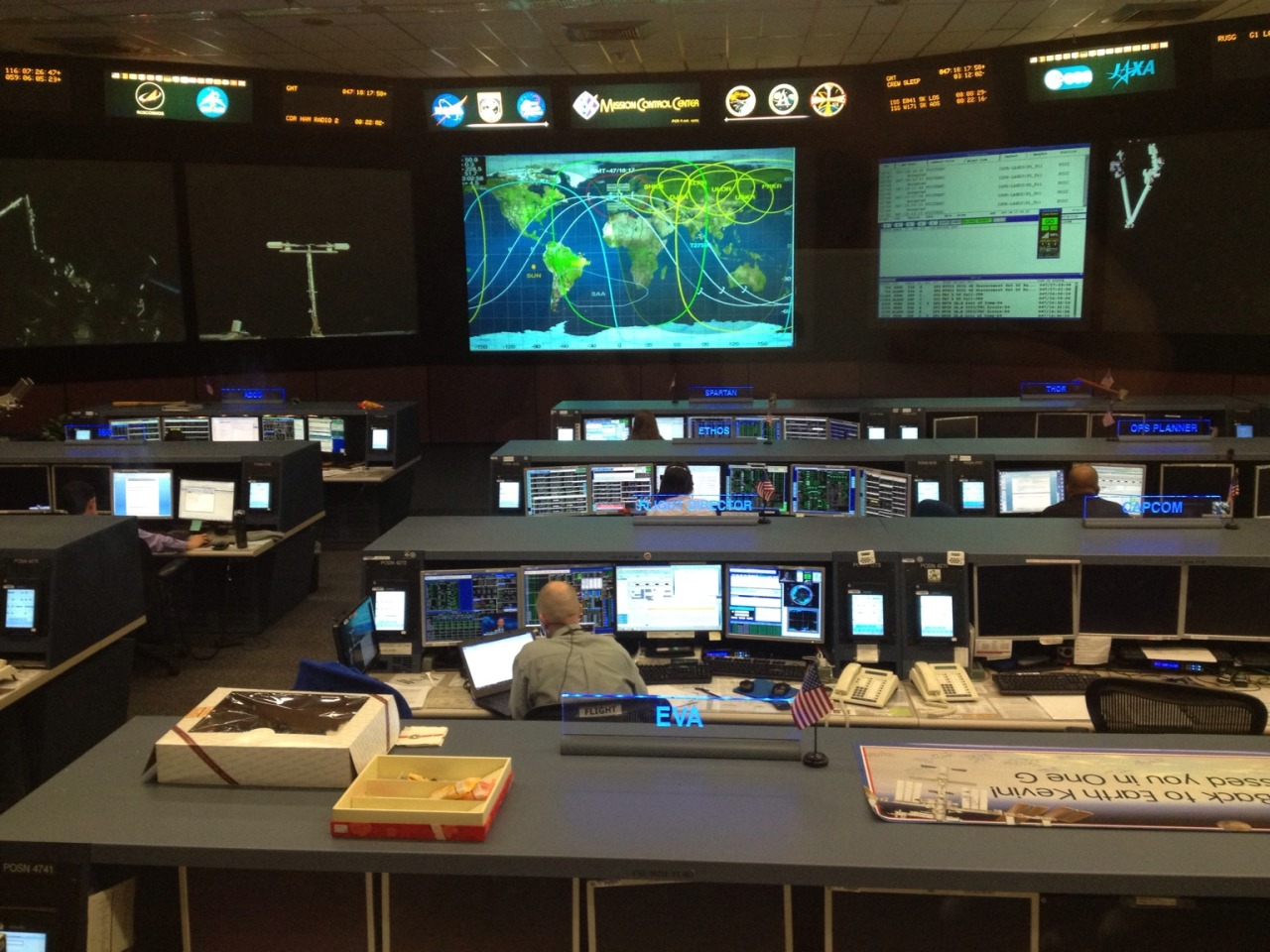 Checking out @NASA Mission Control. So cool!! at Space Center Houston – View on Path.