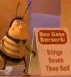 I SAW THIS IN THE NBACKGROUND OF FUCKING BEE MOVIE