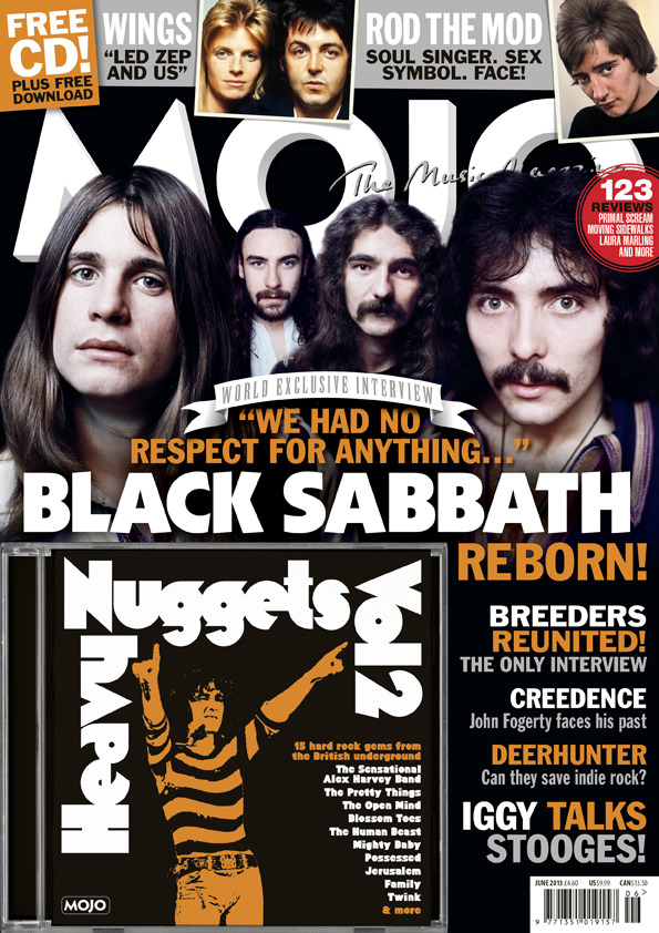 New issue time! In the mag this month - Black Sabbath, Iggy Pop, The Breeders, Deerhunter, John Fogerty, Paul McCartney, Wu-Tang Clan, Rod Stewart, Biffy Clyro and much more.
