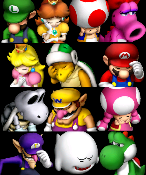 In Mario Party, no matter who wins, everybody loses.