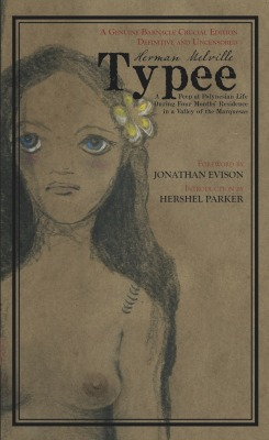 Typee: A Peep at Polynesian Life by Herman Melville Released February 5, 2013 Set in the paradise of a South Sea island, Typee is a combination of fact and fiction. The tale is a distortion of the life of the Typees and foreshadows the metaphysical preoccupations in Melville's later work with its depiction of the evil and mystery lurking beneath the idyllic setting.