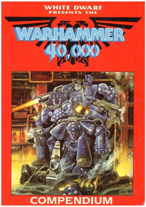 Warhammer 40,000 Compendium. Dave Andrews, 1988. 1989 compilation of White Dwarf articles and rules.