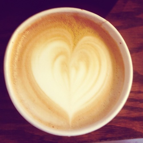 #springforcoffee #love. It's a #happy #monday  here in #downtown #losangeles.