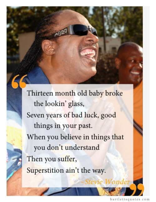 "Happy birthday #StevieWonder! ""Superstition"" was always a fav song - especially when playing #DDR!"